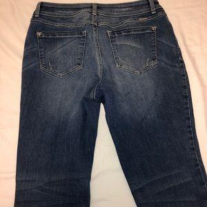 INC Denim Jeans - INC Denim Jeans Straight Leg Curvy Fit Size 8